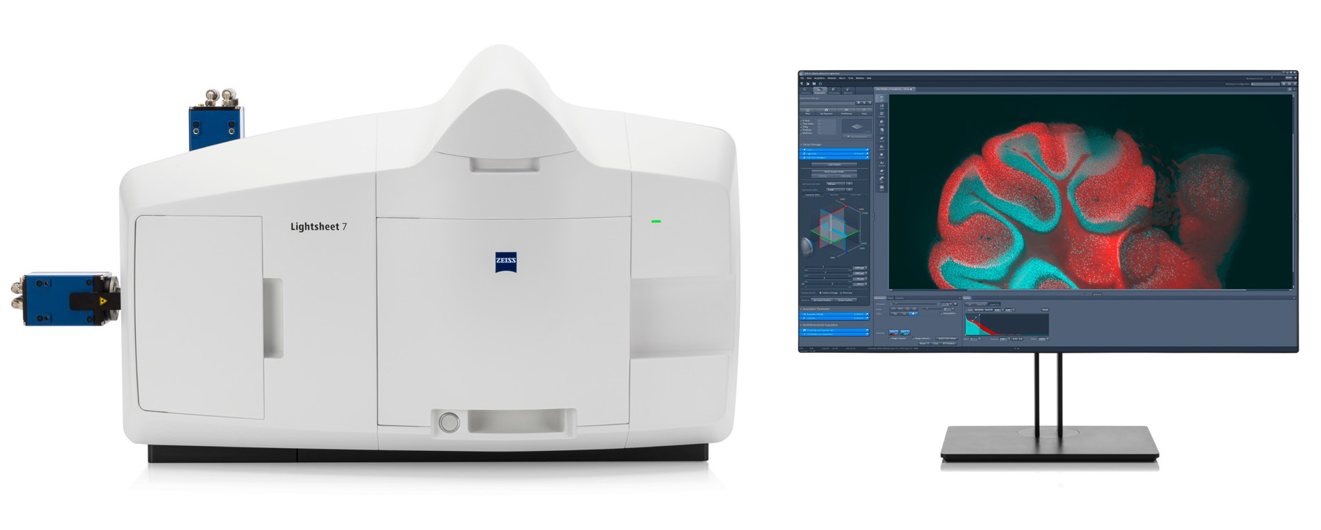 激光片层扫描显微系统Lightsheet 7